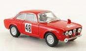 Alfa Romeo Giulia 1600 GTA miniature no.48 tour de corse 1966