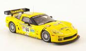 Miniature Chevrolet Corvette C6  R No. 64 Compuware 24h Le Mans 2005