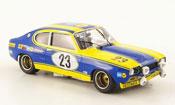 Ford Capri miniature 2600 RS No.23 24h Nurburgring 1972