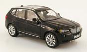 Bmw X3 miniature F25 noire 2010