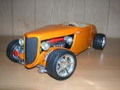 Miniature Hot Rod Ford 1934 rt 10 hot rod