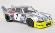 Porsche 911 RSR miniature 2.8 Long Tail No.7 Martini Racing Zeltweg 1973 G.van Lennep/H.Muller