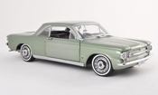 Chevrolet Corvair Coupe gris-vert 1963