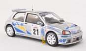 Renault Clio Maxi  No.21 Diac Tour de Corse 1995 P.Bugalski/J.P.Chiaroni IXO 1/43