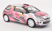 Citroen DS3 miniature R3 No.100 Europe Racing Rally Monte Carlo 2011 D.Elena/O.Campana