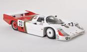 Porsche 956 1985 miniature No.33 American 100's 24h Le Mans J.Gartner/grise.Hobbs/G.Edwards