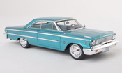 Ford Galaxy   500 turquoise modele special MCW L.E.300 1963 Spark