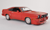 Ford Mustang miniature 1978 II King Cobra rouge/grise