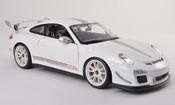 Porsche 997 Burago GT3 RS 2011 4.0 blanche/grise