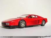 Ferrari Testarossa 1984  rouge Burago