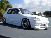 Peugeot 205 GTI  kit carrosserie Solido 1/18