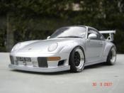 Porsche tuning 993 GT2 evo street gray polaire