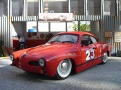 Volkswagen Karmann   ghia red Solido