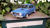 Renault 12 miniature Gordini kit large groupe A