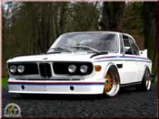 Bmw tuning 3.0 CSL bianco kit deco csl 3.0l