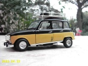 Renault 4L   old school Solido