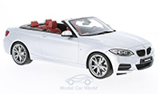 Bmw M235 F23 i M Performance Cabriolet bianco