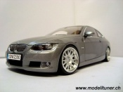 Bmw 330 miniature E92 coupe grise