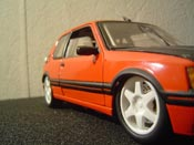Peugeot 205 GTI  tuning Solido 1/18