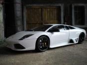 Lamborghini Murcielago LP640 white
