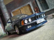 Bmw 635 CSI m blau metallic