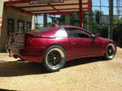 Nissan 300 ZX rosso