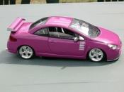 Peugeot 307 CC  fushia fun Solido