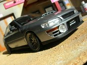 Subaru Impreza STI GT Turbo wrx grau