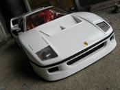 Ferrari F40 LM  blanche Burago
