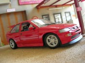 Ford Escort Cosworth rs red