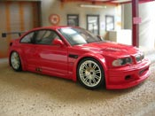 Bmw M3 E46 GTR red Minichamps