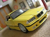 Bmw M3 E36 jaune full stock