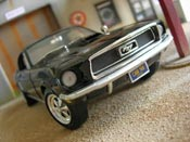 Ford Mustang 1965  coupe black Ertl