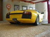 Lamborghini Murcielago   yellow Autoart