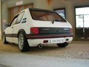 Peugeot 205 GTI miniature 1.9 Blanc Meije ligne groupe n