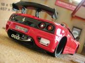 Ferrari 360 Modena  coupe rouge Burago