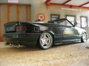 Bmw 325 E36  e36 black swap z3m wheels z3m bumper z3m Maisto