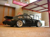 Porsche 965 3.6 turbo bad boys nero