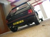 Peugeot 205 miniature GTI 1.9 noire