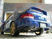 Subaru Impreza STI GT Turbo wrx blu