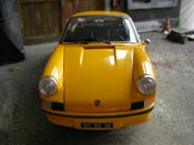 Porsche 911 RS 2.7 yellow