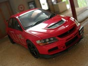 Mitsubishi Lancer Evolution IX rally art