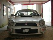 Subaru Impreza WRX STI grigio