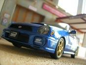 Subaru Impreza WRX Wagon sti blue