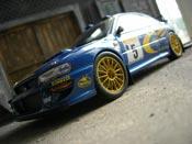 Subaru Impreza WRC  r.burns 1999 Autoart 1/18