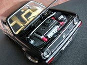 Miniature German Look Volkswagen Golf 1 GTI German Look swap moteur audi tt noire