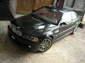 Bmw M3 E46  black Autoart