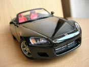 Honda S2000   nero Autoart