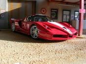 Ferrari Enzo FXX  rosso Hot Wheels Elite
