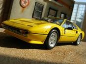 Ferrari 308 GTB quattrovalvole giallo